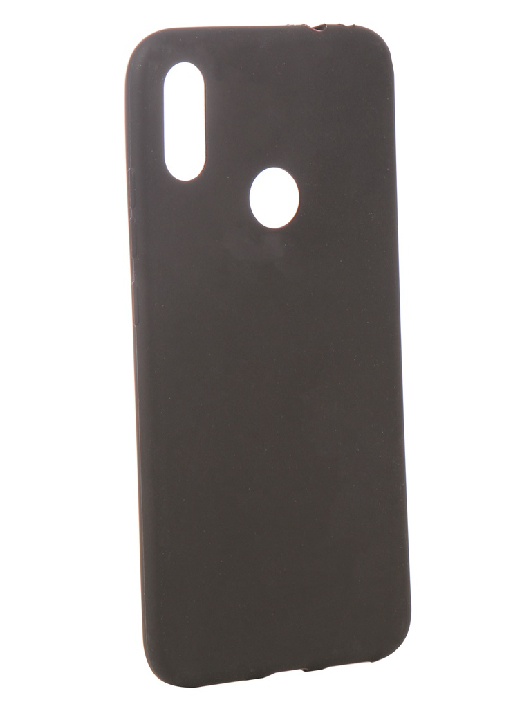 Аксессуар Чехол Zibelino для Xiaomi Redmi Note 7 2019 Soft Matte Black ZSM-XIA-RDM-NOT7-BLK