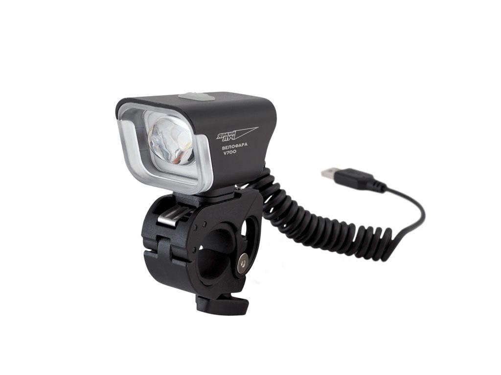 Велофонарь Яркий Луч V-700 CREE XM-L2 700лм eastward yj j06 3 mode 900 lumen white led flashlight w cree xm l t6 strap 1 18650