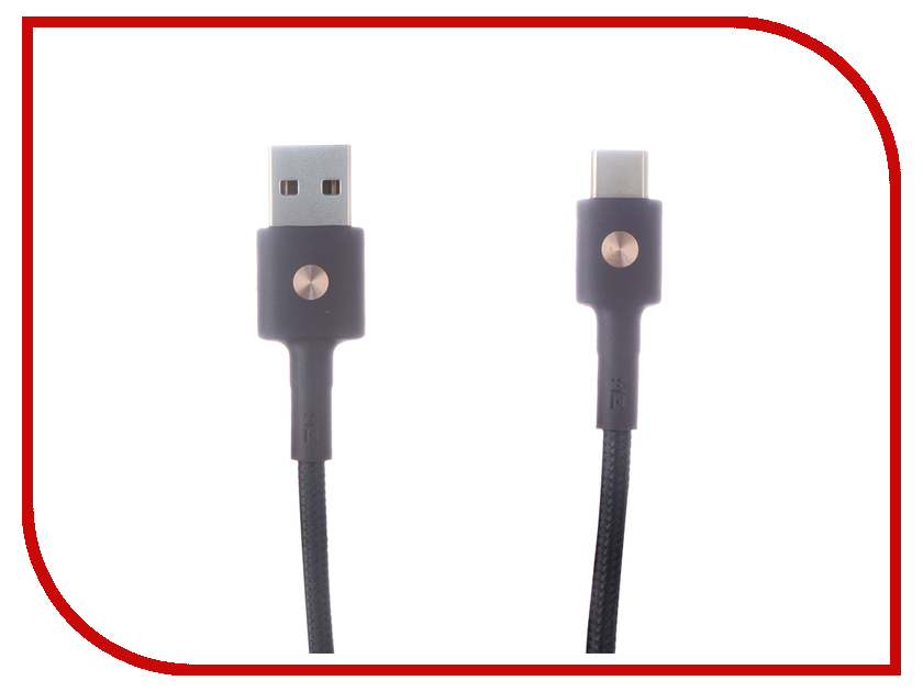 Аксессуар Xiaomi ZMI AL401 USB - Type-C 1m Blue аксессуар df usb type c 1m czebra 02 blue black page 7