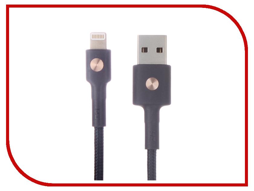 Аксессуар Xiaomi ZMI AL823 USB - Lightning MFi 30cm Blue аксессуар usams us sj199 usb lightning 1 2m blue