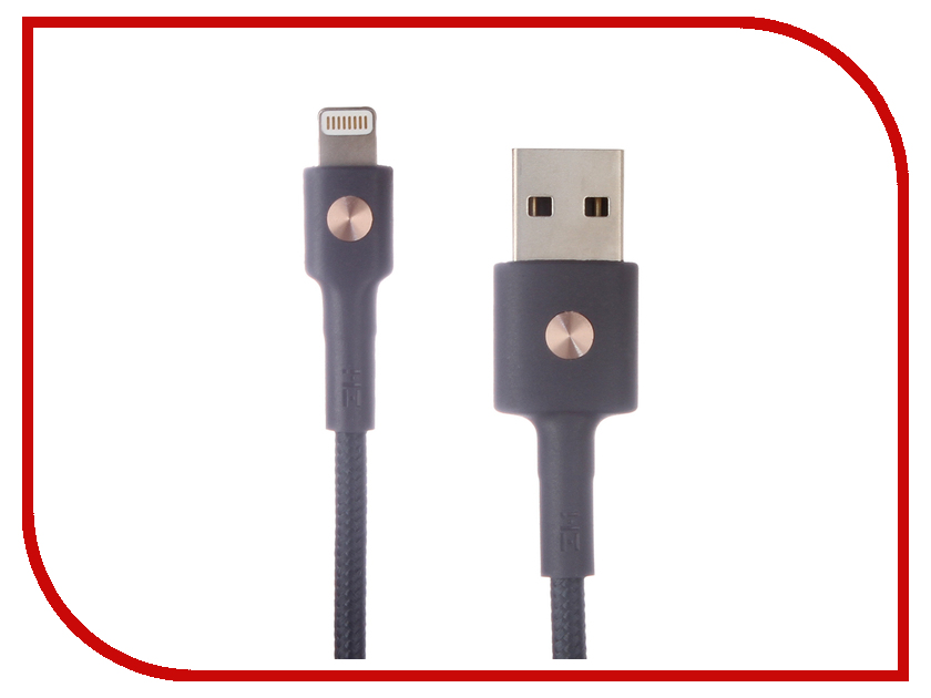 Аксессуар Xiaomi ZMI AL803 USB - Lightning MFi 1m Blue аксессуар usams us sj199 usb lightning 1 2m blue