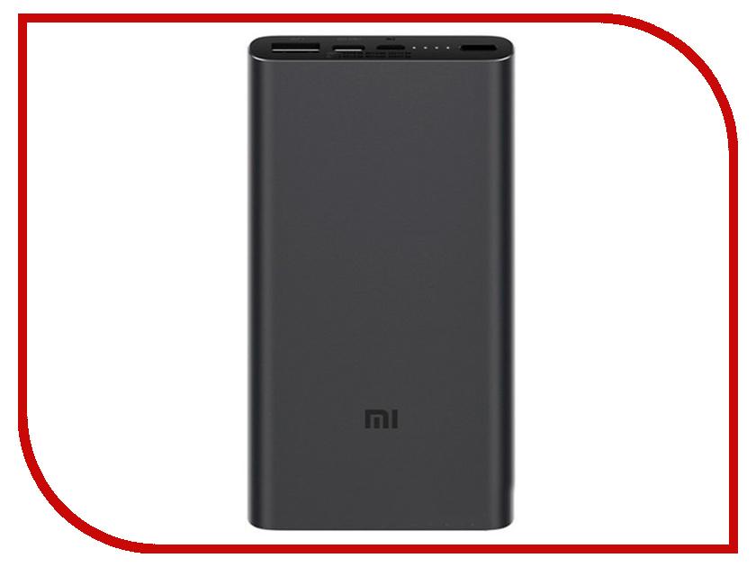 Аккумулятор Xiaomi Mi Power Bank 3 10000mAh Black аккумулятор usb 10000mah mi2s black vxn4230gl xiaomi