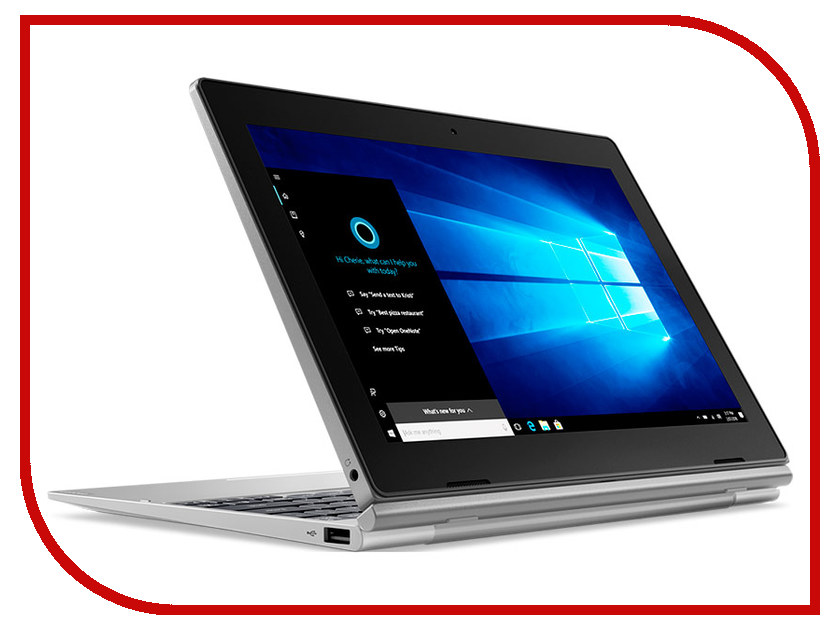 Планшет Lenovo D330-10IGM 81MD000BRU (Intel Celeron N4000 1.1GHz/4096Mb/64Gb/Intel HD Graphics/LTE/Wi-Fi/Bluetooth/Cam/10.1/1920x1200/Touchscreen/Windows 10 64-bit)