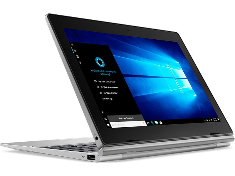Планшет Lenovo D330-10IGM 81MD000BRU (Intel Celeron N4000 1.1GHz/4096Mb/64Gb/Intel HD Graphics/LTE/Wi-Fi/Bluetooth/Cam/10.1/1920x1200/Touchscreen/Windows 10 64-bit) цена