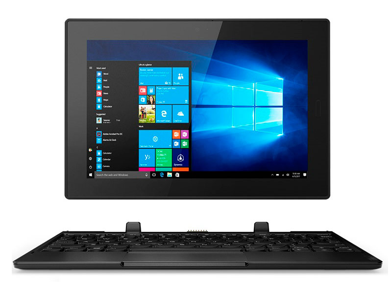 Планшет Lenovo Tablet 10 20L3000LRT (Intel Celeron N4100 1.1GHz/4096Mb/64Gb/Intel HD Graphics/LTE/Wi-Fi/Bluetooth/Cam/10.1/1920x1200/Windows 10 64-bit) планшет dell venue 8 pro 64gb ms windows 10 professional 64 bit z8500 1440mhz 8 0 1920x1080 4096mb 64gb [5855 1917]