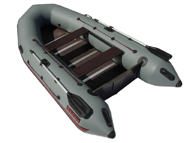 Лодка Leader Тайга Nova - 320 Киль Grey цены