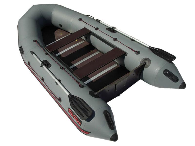 Лодка Leader Тайга Nova - 340 Киль Grey