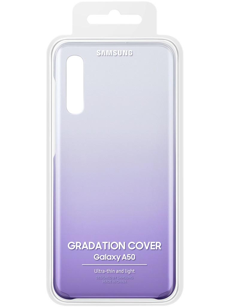 Аксессуар Чехол для Samsung Galaxy A505 Gradation Cover Violet EF-AA505CVEGRU