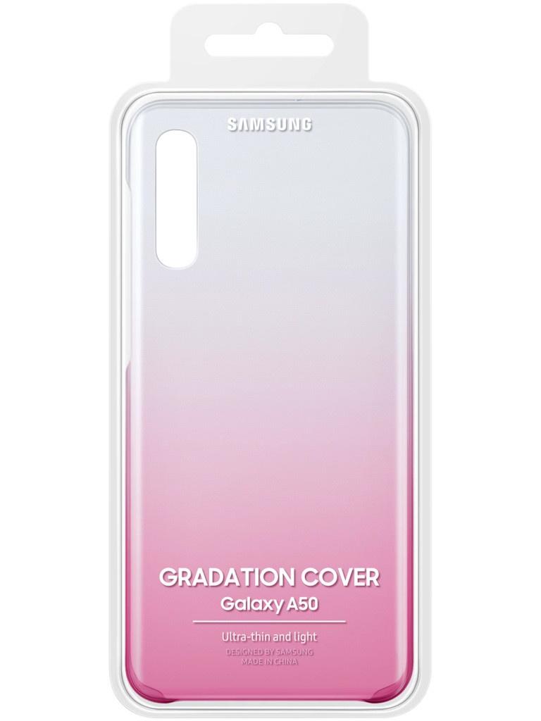 Аксессуар Чехол для Samsung Galaxy A505 Gradation Cover Pink EF-AA505CPEGRU