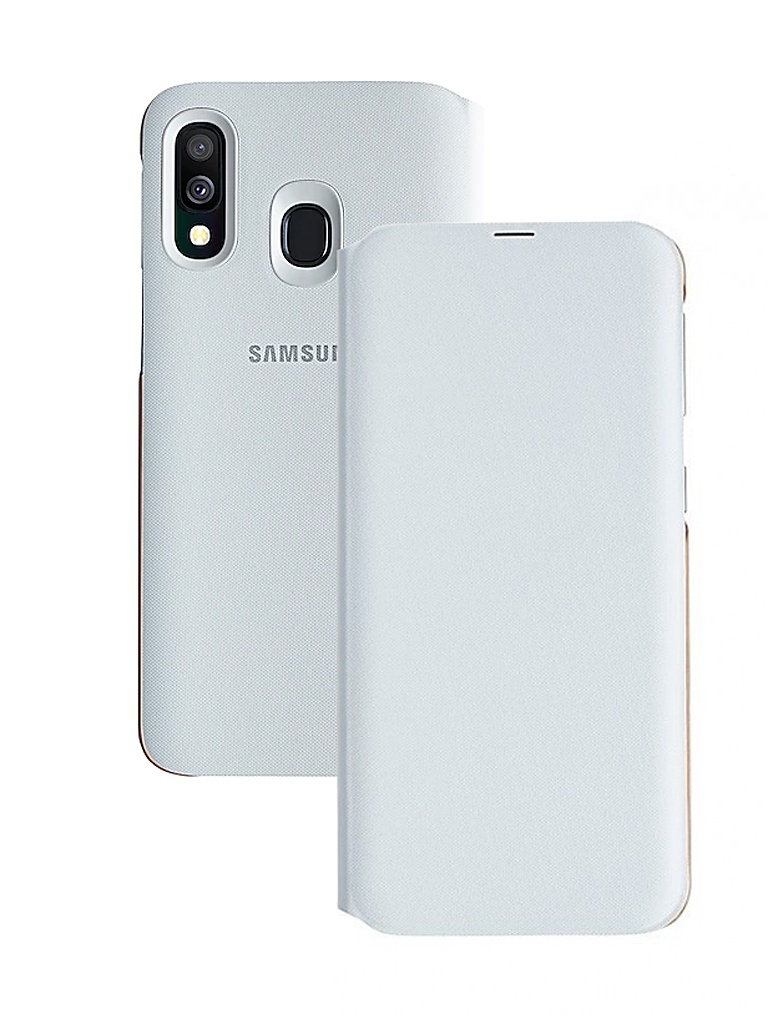 Чехол для Samsung Galaxy A405 Wallet Cover White EF-WA405PWEGRU стоимость