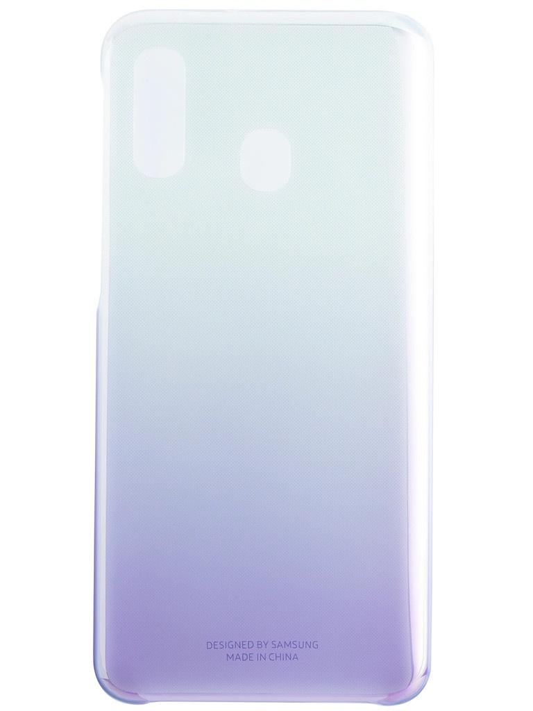 Аксессуар Чехол для Samsung Galaxy A405 Gradation Cover Violet EF-AA405CVEGRU аксессуар чехол samsung galaxy note 8 led view cover gold ef nn950pfegru