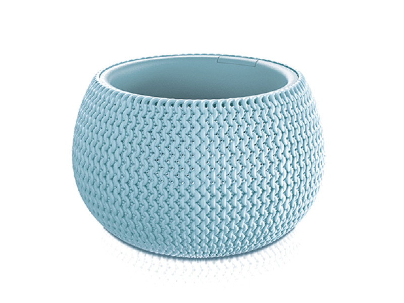 Кашпо Prosperplast Splofy Bowl DKSP370-656U Light Blue