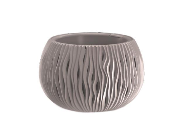 Кашпо Prosperplast Sandy Bowl DSK370-7529U Mocha