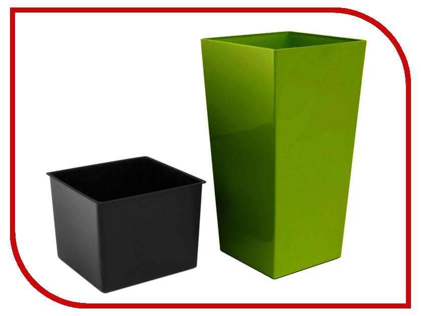 Кашпо Prosperplast Urbi Square DURS325-370U Olive ледянка prosperplast kid isg 361c green
