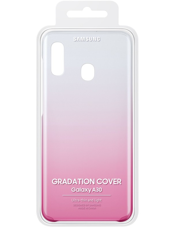 Аксессуар Чехол для Samsung Galaxy A305 Gradation Cover Pink EF-AA305CPEGRU аксессуар чехол samsung galaxy j4 plus j415 ef aj415cfegru gradation cover gold
