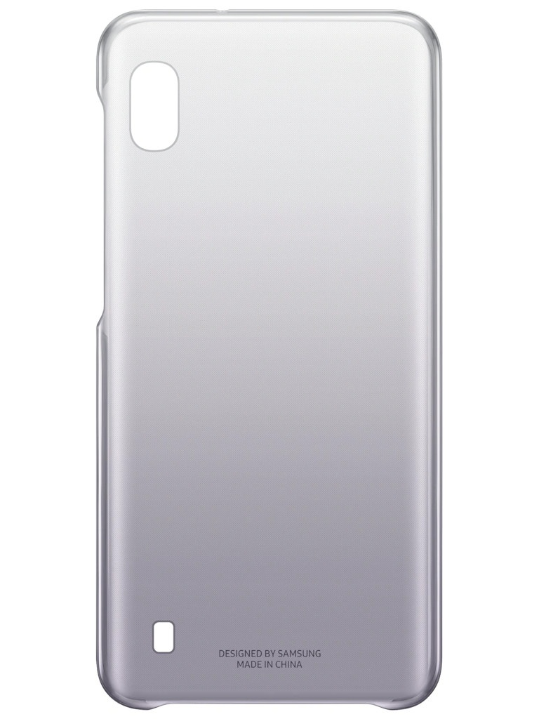 Аксессуар Чехол для Samsung Galaxy A105 Gradation Cover Black EF-AA105CBEGRU чехол для сотового телефона samsung galaxy note 8 clear cover violet ef qn950cvegru
