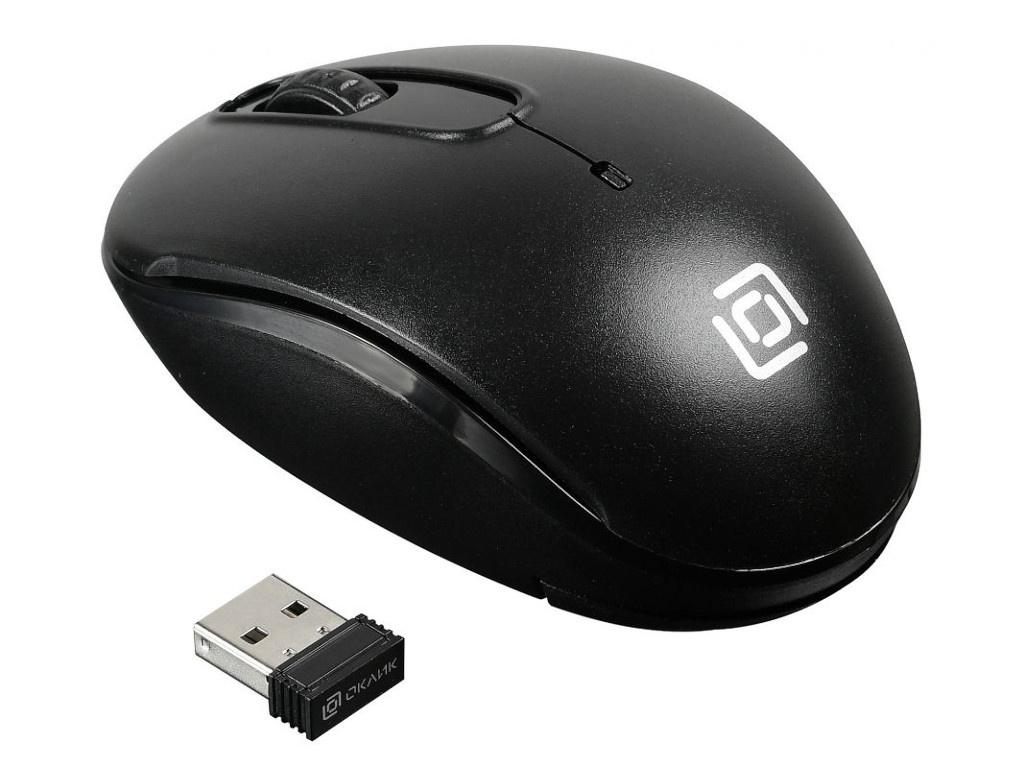 Мышь Oklick 505MW Black