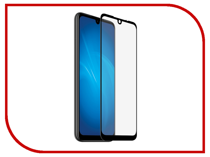 Аксессуар Защитный экран для Xiaomi Redmi Note 7 Red Line Full Screen Tempered Glass Full Glue Black УТ000017455 new lcd display matrix 7 inch iconbit nettab sky 3g duo tablet lcd screen lens glass viewing screen replacement free shipping
