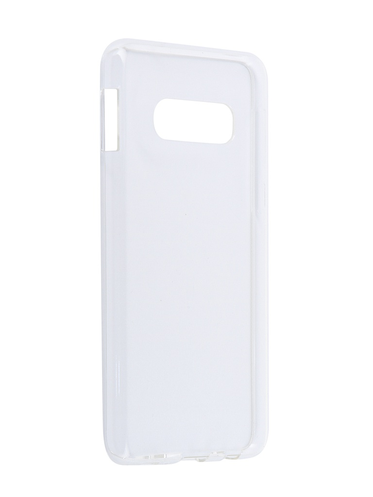 Аксессуар Чехол iBox для Samsung Galaxy S10E Crystal Silicone Transparent УТ000017177 аксессуар чехол ibox для apple iphone x crystal silicone transparent