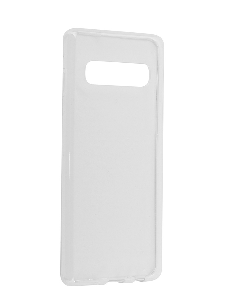 Аксессуар Чехол iBox для Samsung Galaxy S10 Crystal Silicone Transparent УТ000017175