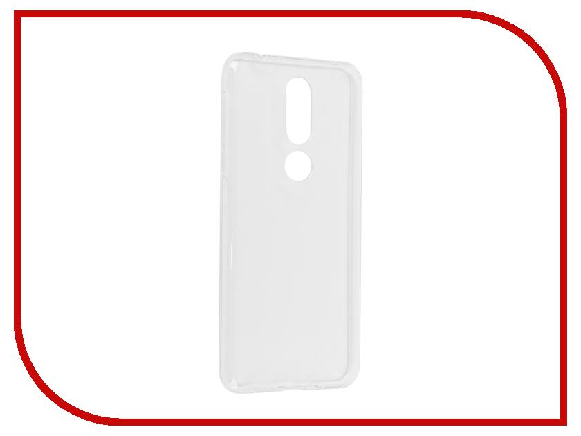 Аксессуар Чехол для Nokia 7.1 iBox Silicon Crystal Transparent УТ000017171 аксессуар чехол для lg q6 ibox crystal transparent