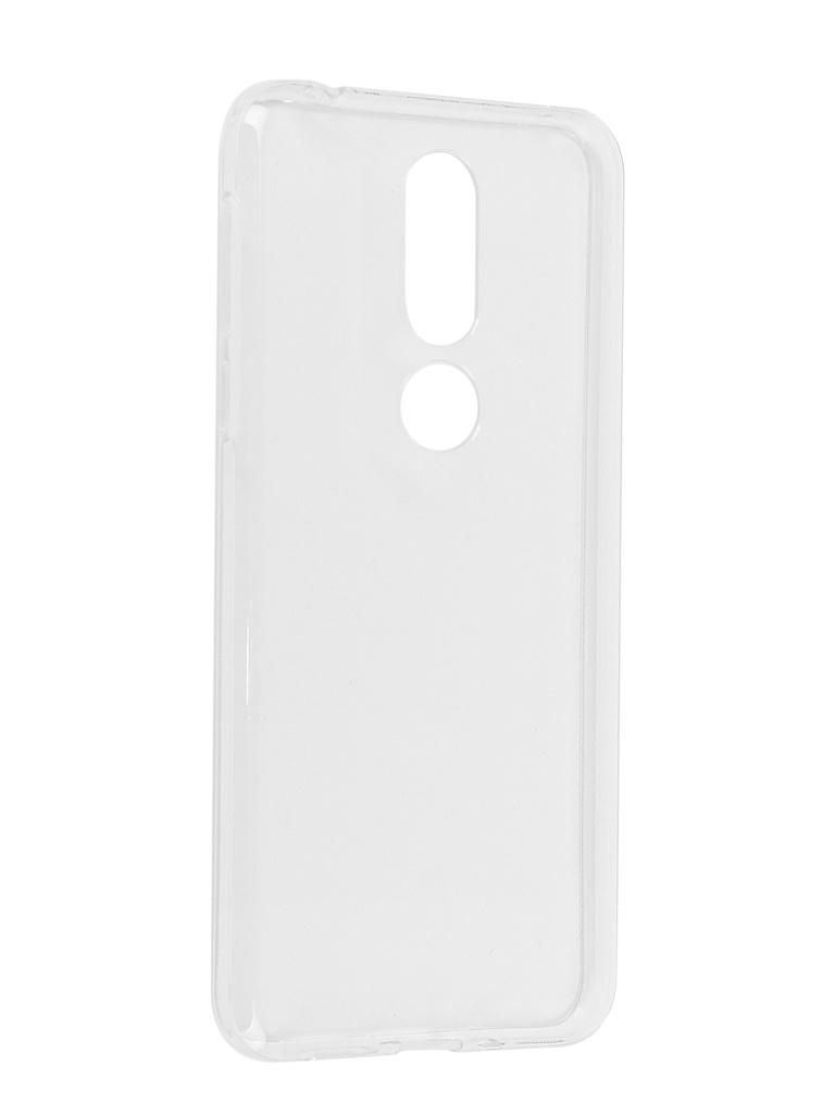 Аксессуар Чехол iBox для Nokia 7.1 Silicon Crystal Transparent УТ000017171 аксессуар чехол для nokia 3 1 ibox crystal silicone transparent