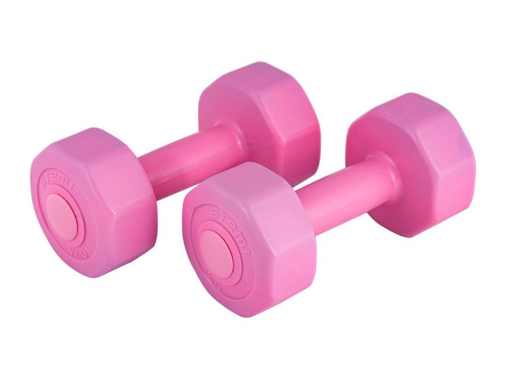 Гантели Atemi AD022 2x1kg Pink