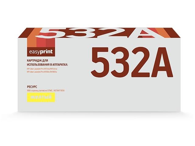 Картридж EasyPrint LH-CF532A Yellow для HP Color LaserJet Pro M154a/M154nw/M180n/M180fw с чипом