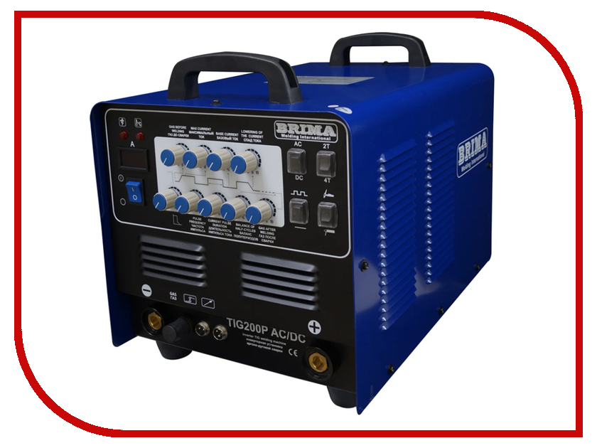 цена на Сварочный аппарат BRIMA TIG 200P AC/DC
