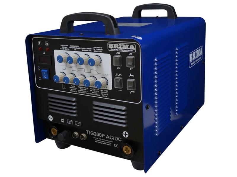 Сварочный аппарат BRIMA TIG 200P AC/DC jasic welder wse 200p ac dc pulse tig welder and aluminum welding machine tig 200p