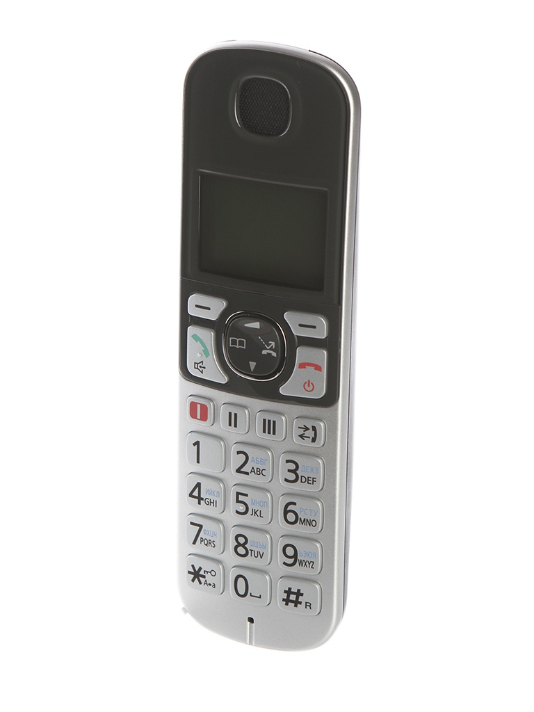 Радиотелефон Panasonic KX-TGE510 Silver-Black