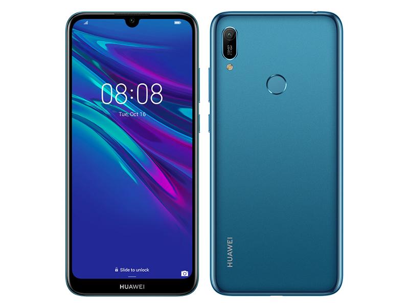 Сотовый телефон Huawei Y6 2019 2/32Gb Sapphire Blue Выгодный набор + серт. 200Р!!!