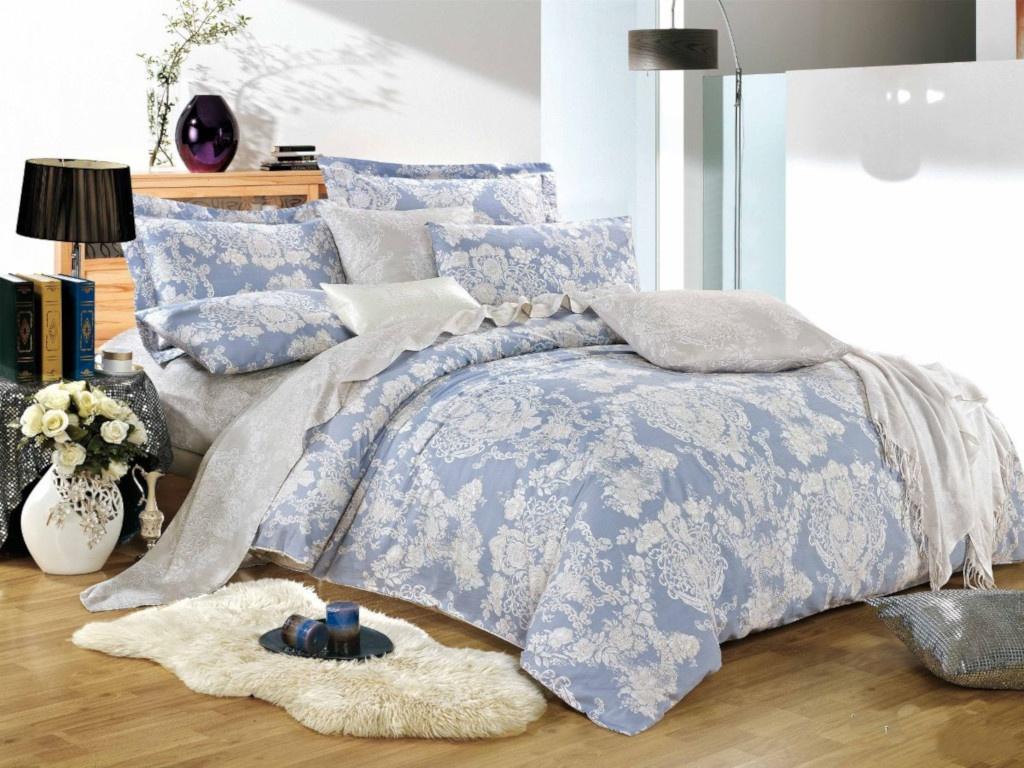 Фото - Постельное белье Cleo Satin Lux 15/355-SL Комплект 1.5-спальный Сатин постельное белье cleo кпб поплин детский мечта 1 5 спальный