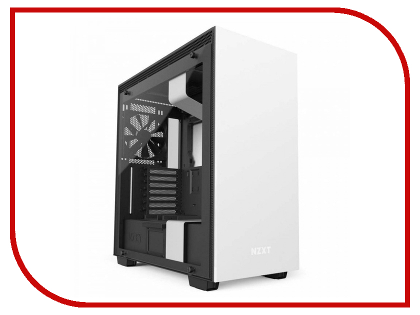 Корпус NZXT H700I White-Black CA-H700W-WB