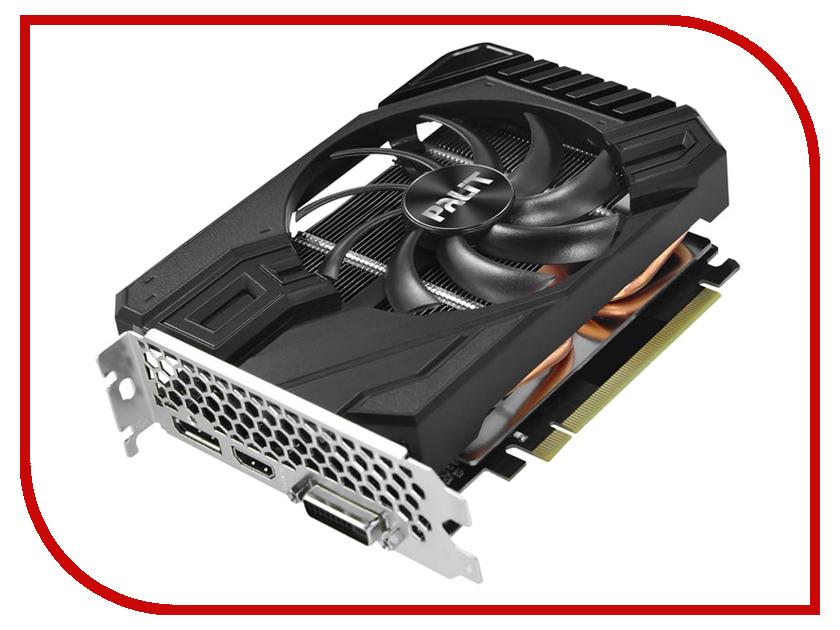 Видеокарта Palit GeForce GTX 1660 StormX 1530Mhz PCI-E 3.0 6144Mb 8000Mhz 192 bit DVI HDMI DP NE51660018J9-165F цены