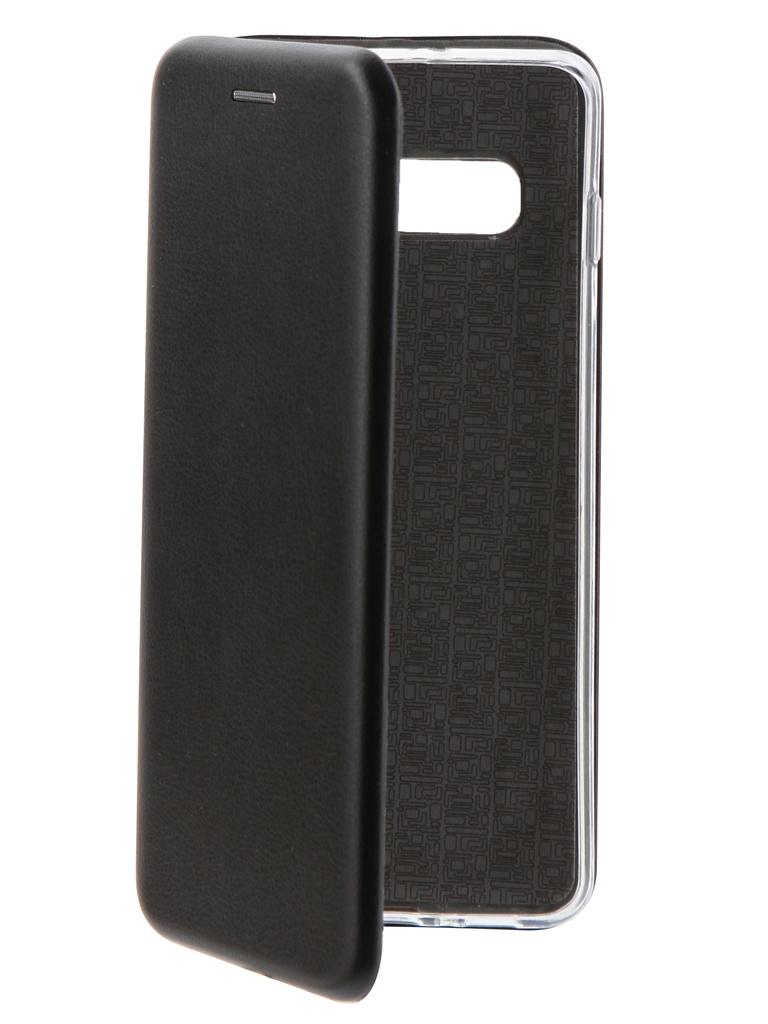 Аксессуар Чехол Neypo для Samsung Galaxy S10 Plus Premium Black NSB7025 аксессуар чехол samsung j3 2017 j330f zibelino clear view black zcv sam j330 blk