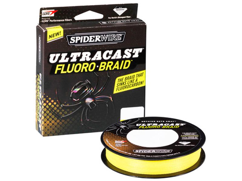 Леска SpiderWire Ultracast Fluorobraid 110m 0.40mm Yellow 0051740
