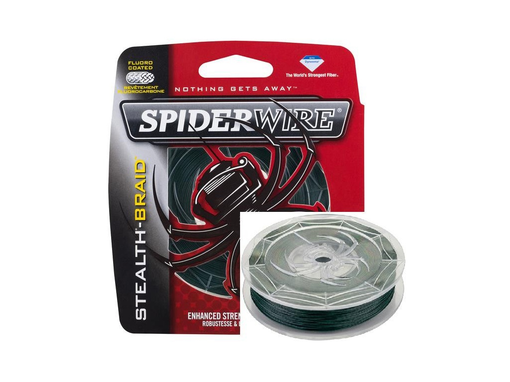 Леска SpiderWire Stealth 137m 0.40mm Dark Green 0051751