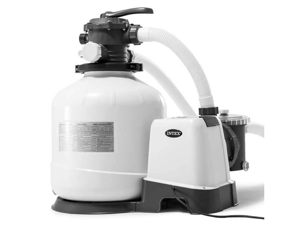 Песочный фильтрующий насос Intex Krystal Clear 8000л/ч 26648