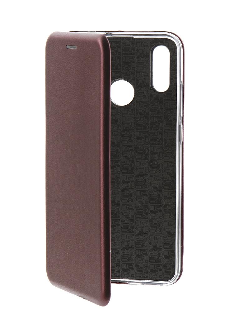 Аксессуар Чехол Neypo для Huawei P Smart 2019 Premium Bordo NSB11336
