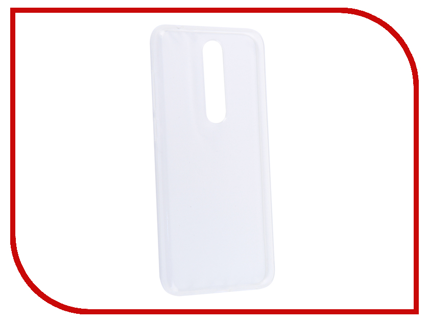 Купить Аксессуар Чехол для Nokia 5.1 Plus Neypo Silicone Transparent NST6134