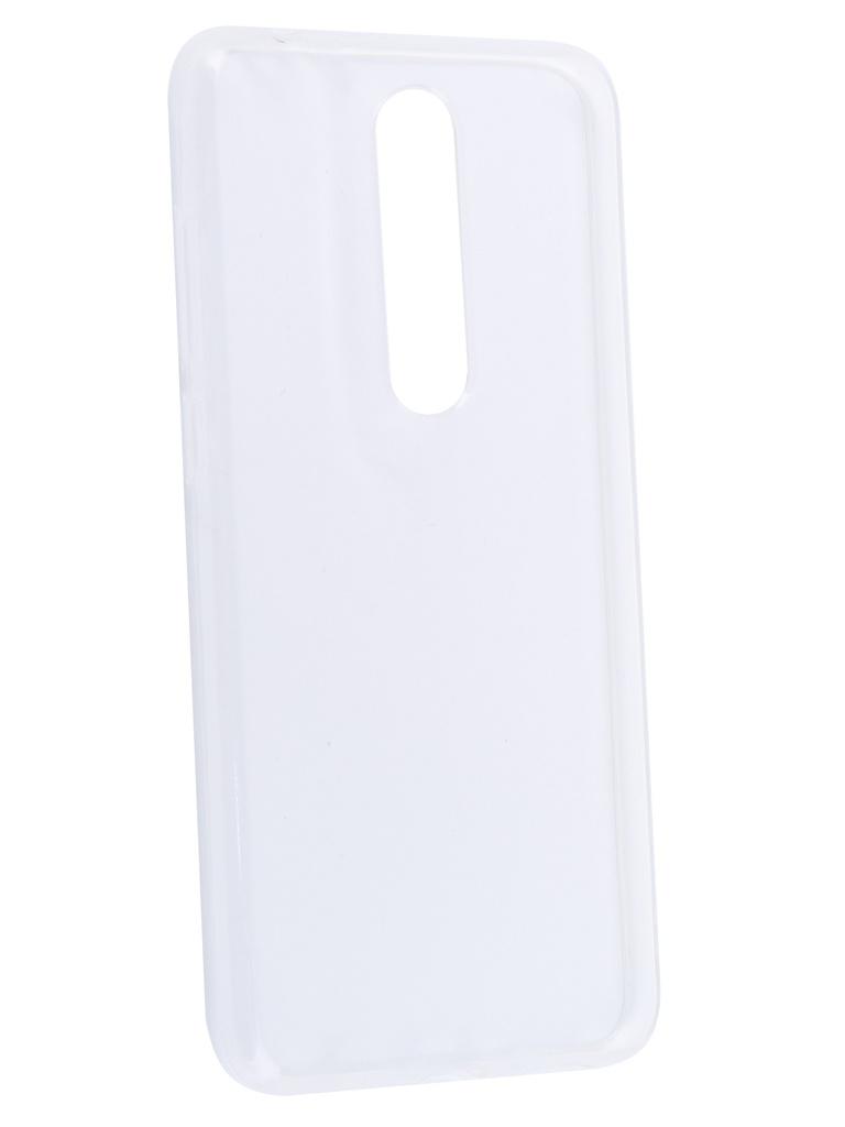 Аксессуар Чехол Neypo для Nokia 5.1 Plus Silicone Transparent NST6134
