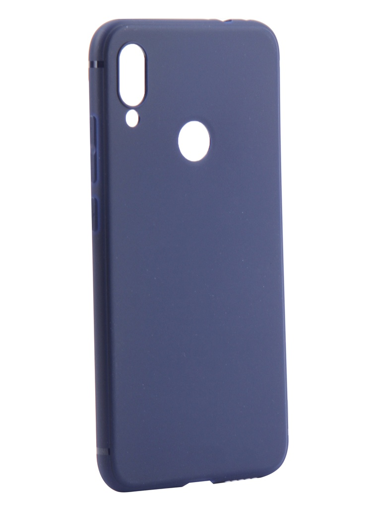 Аксессуар Чехол Neypo для Xiaomi Redmi Note 7 Soft Matte Silicone Dark Blue NST11308 аксессуар чехол xiaomi redmi note 2 cojess ultra slim blue