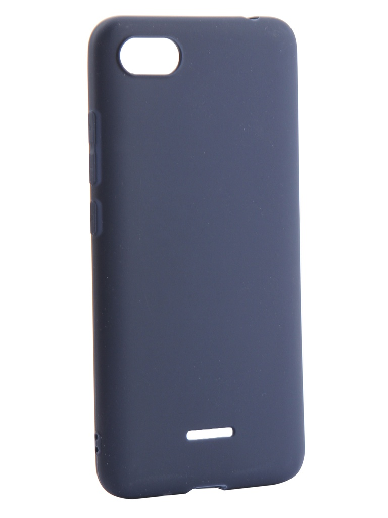Аксессуар Чехол Neypo для Xiaomi Redmi 6A Soft Matte Silicone Dark Blue NST4811 цена
