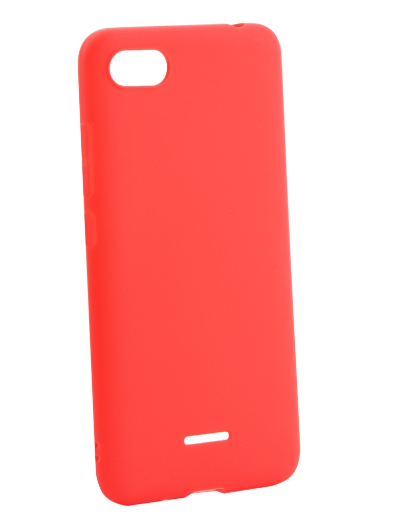 Аксессуар Чехол Neypo для Xiaomi Redmi 6A Soft Matte Silicone Red NST5469 цена
