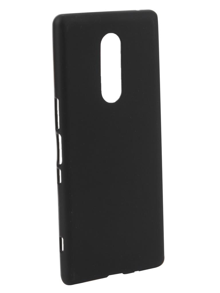 Аксессуар Чехол Neypo для Sony Xperia XZ4 Soft Matte Silicone Black NST11329 аксессуар чехол для nokia 6 2018 neypo soft matte silicone black nst4301