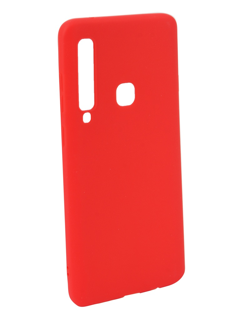 Аксессуар Чехол Neypo для Samsung Galaxy A9 2018 Soft Matte Silicone Red NST6984 аксессуар чехол для samsung galaxy a6 plus 2018 neypo soft matte red nst4632