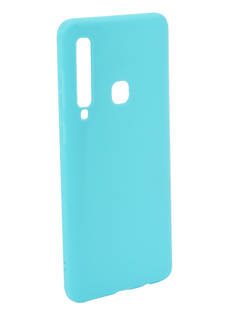 Аксессуар Чехол Neypo для Samsung Galaxy A9 2018 Soft Matte Silicone Turquoise NST6983 аксессуар чехол neypo для samsung galaxy s8 plus silicone soft matte black nst2276