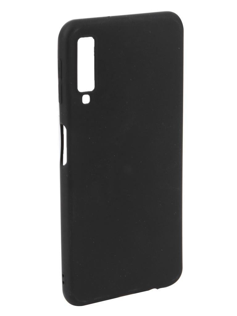 Аксессуар Чехол Neypo для Samsung Galaxy A7 2018 Soft Matte Silicone Black NST5980