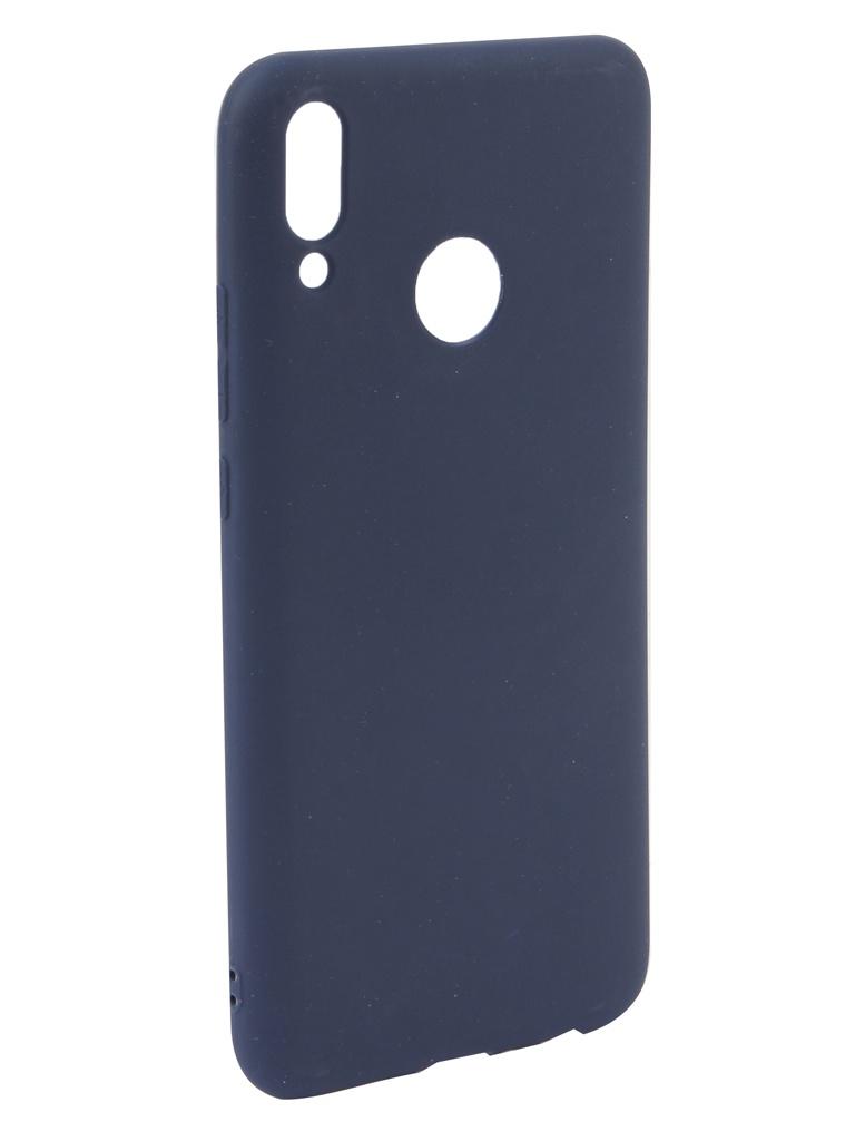 Аксессуар Чехол Neypo для Huawei Y9 2019 Soft Matte Silicone Dark Blue NST11254 аксессуар чехол для huawei y6 2019 neypo soft matte silicone dark blue nst11315